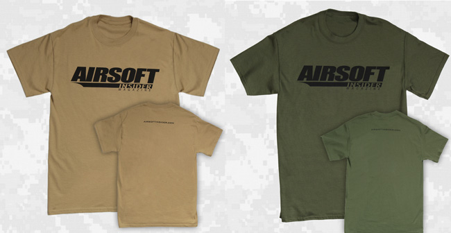Airsoft Swag – Get your Airsoft Insider T-Shirts