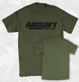 Airsoft Insider T-Shirt - Olive Drab