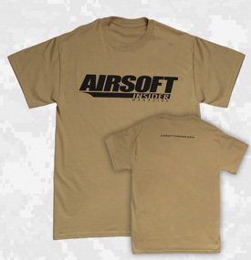 Airsoft Insider T-Shirt - Tan