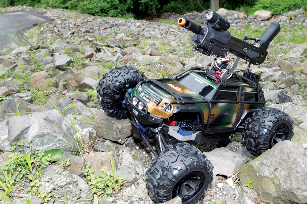 Custom FPV RC Assault Truck