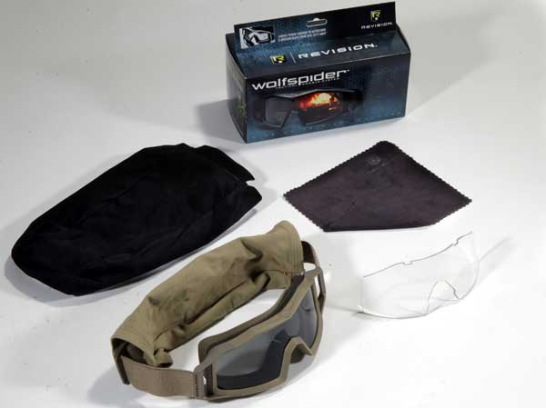 Revision Wolfspider Tactical Goggle System